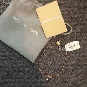 Michael Kors Heart Shaped Bracelet